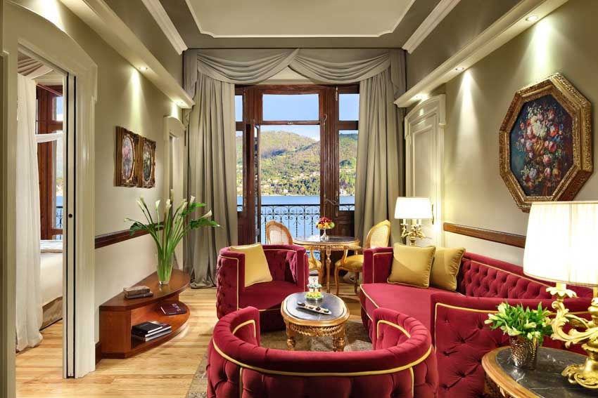 Suite of Grand Hotel Tremezzo for weddings on Lake Como