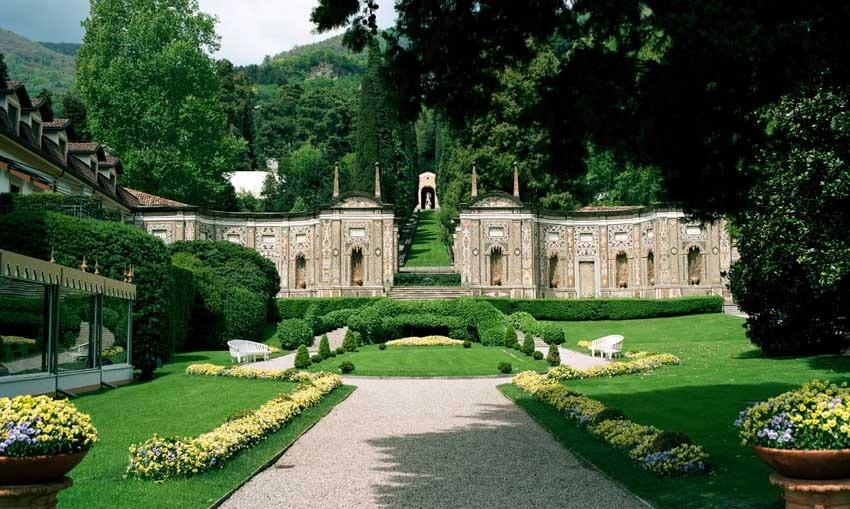 Gardens of Villa d'Este for Lake Como weddings