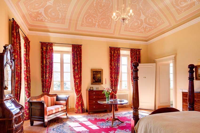 Suite of Villa Passalacqua for destination weddings on Lake Como
