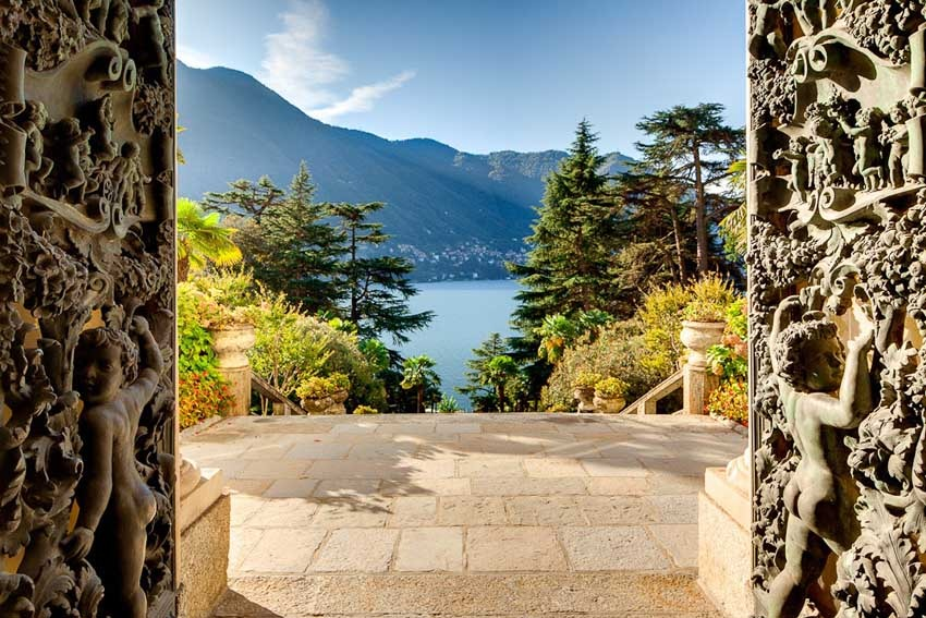 Villa Passalacqua for destination weddings on Lake Como