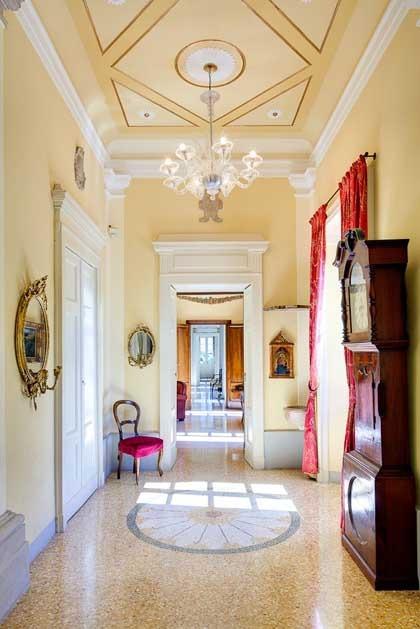 Interior of Villa Passalacqua for destination weddings on Lake Como