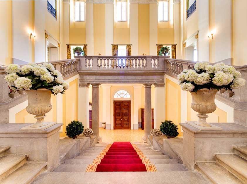 Villa Passalacqua for Lake Como weddings