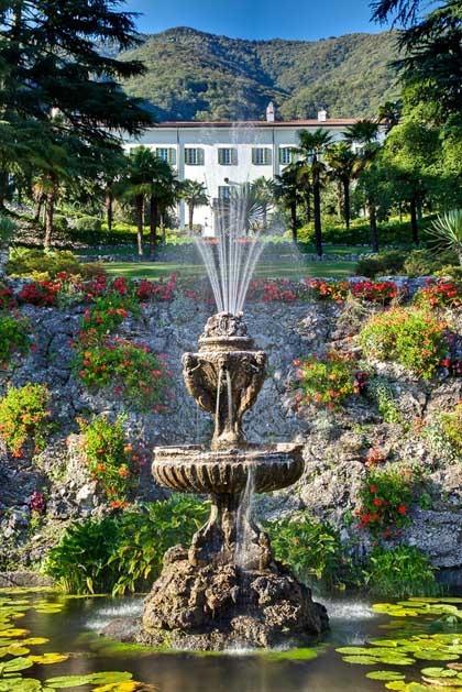 Gardens of Villa Passalacqua for destination weddings on Lake Como