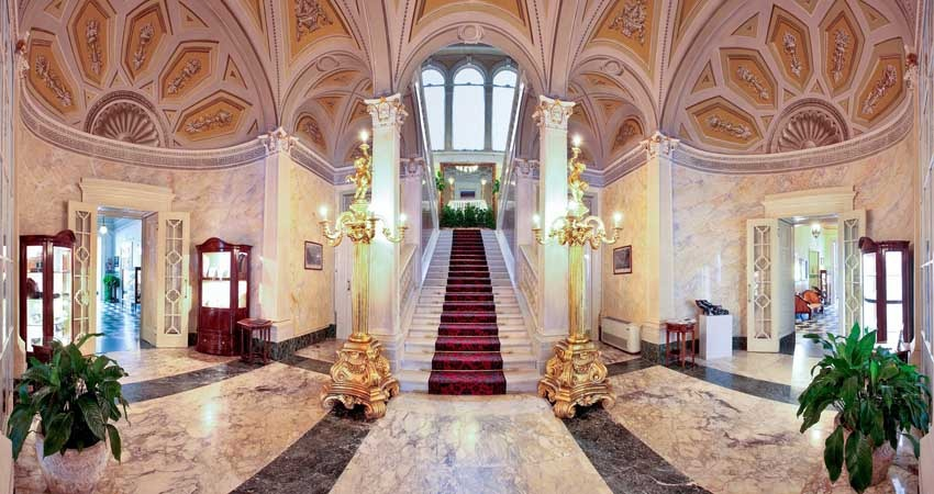 Interior of Villa Serbelloni for luxury weddings on Lake Como