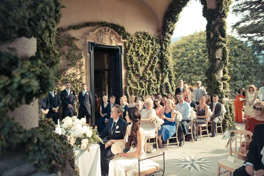 Civil Ceremony At Villa Balbianello On Lake Como