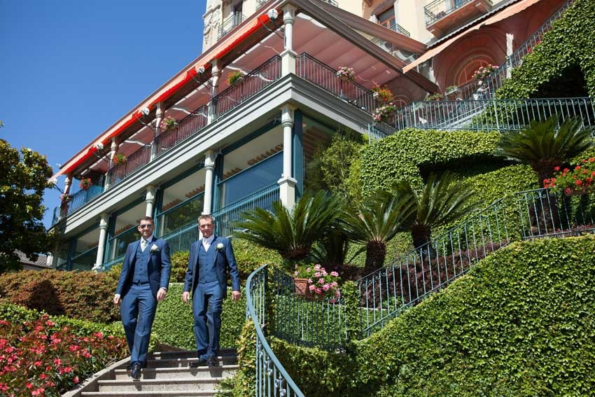 Grand Hotel Tremezzo for weddings on Lake Como
