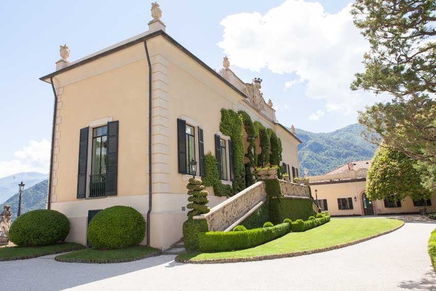 Villa Balbianello for destination weddings on Lake Como