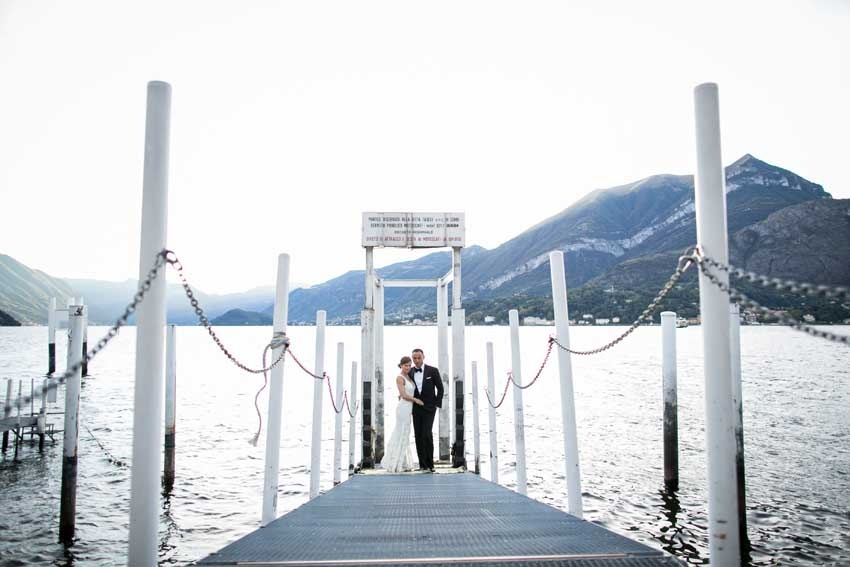 Civil wedding on Lake Como Villa Carlotta