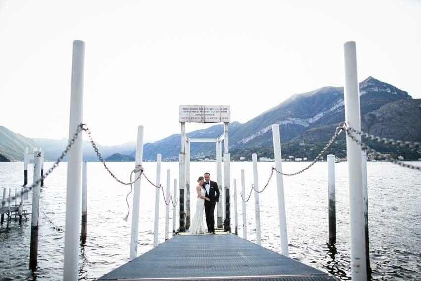 Civil wedding on Lake Como Villa Carlotta