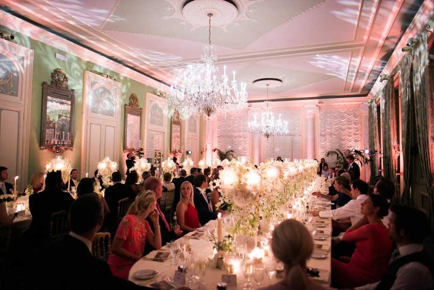 Lake Como wedding reception at Villa d'Este