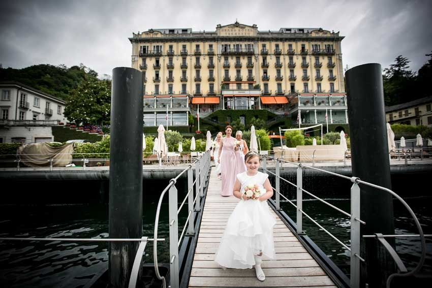 Wedding at Grand Hotel Tremezzo on Lake Como