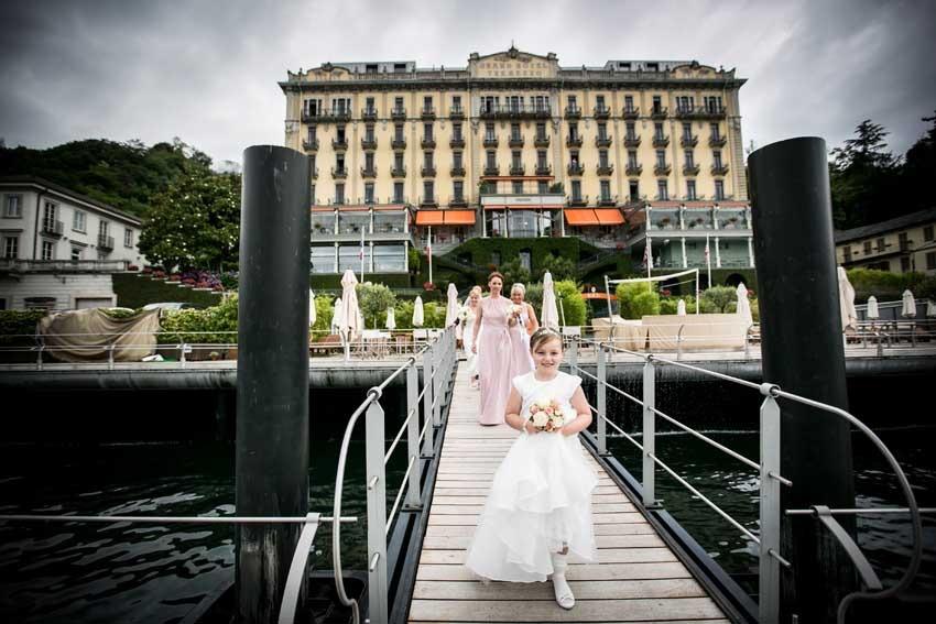 Wedding at Grand Hotel Tremezzo on Lake Como