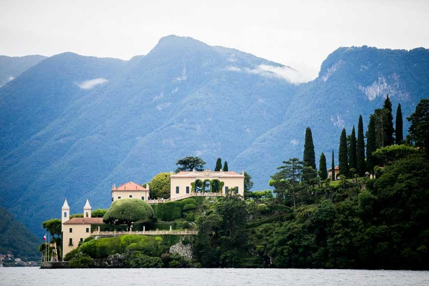 Lake Como weddings at Villa del Balbianello