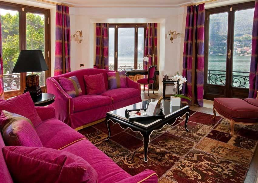 Rooms of Casta Diva Resort for destination weddings on Lake Como
