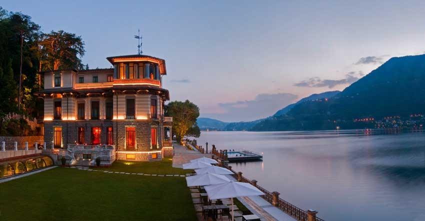 Casta Diva Resort for destination weddings on Lake Como