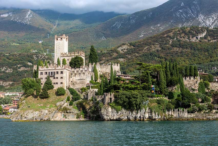 Malcesine Castle for Lake Garda weddings