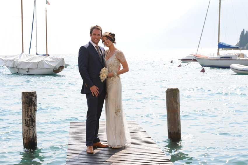 Destination wedding on Lake Garda