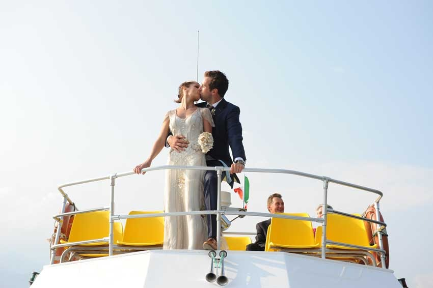 Civil wedding in Malcesine on Lake Garda
