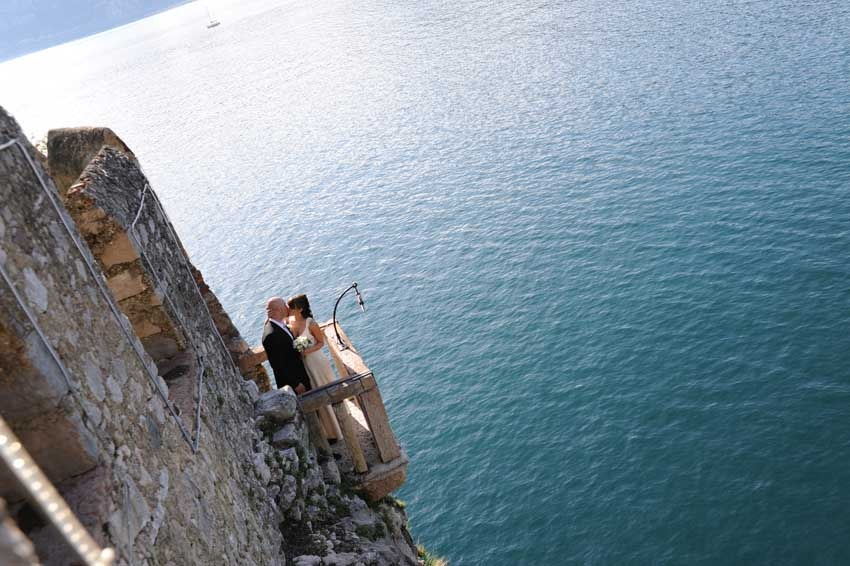 Destination wedding on Lake Garda in Malcesine