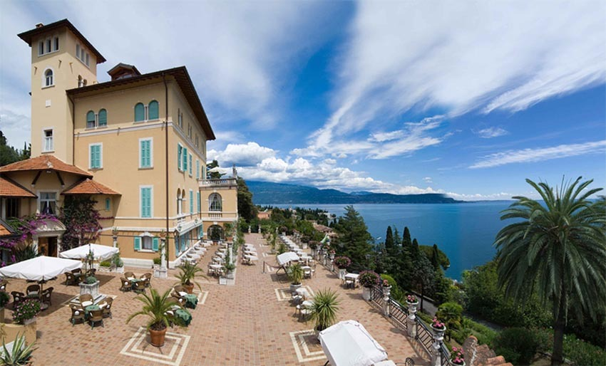 Villa del Sogno for weddings on Lake Garda