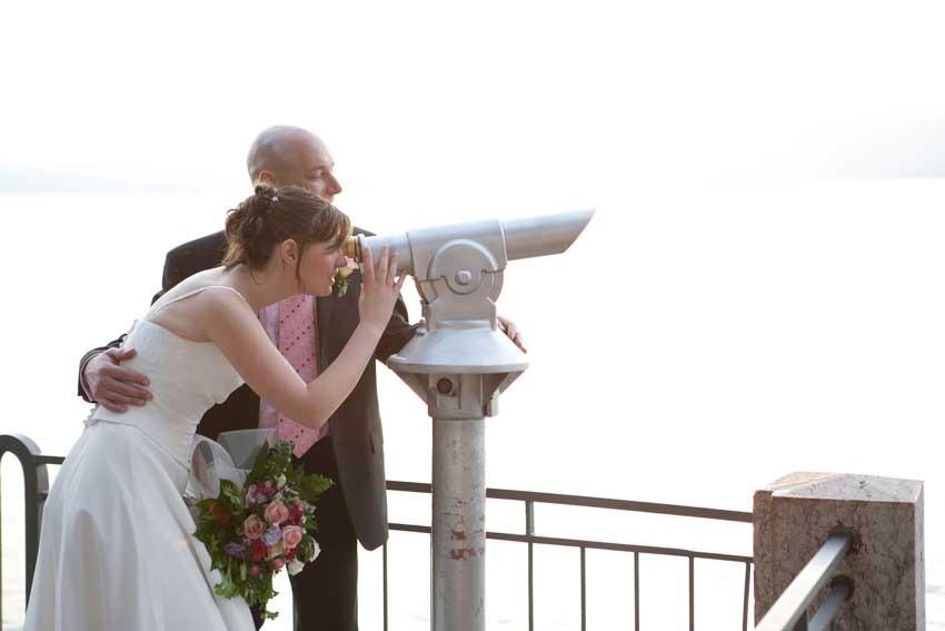 Destination wedding on Lake Garda Torri del Benaco
