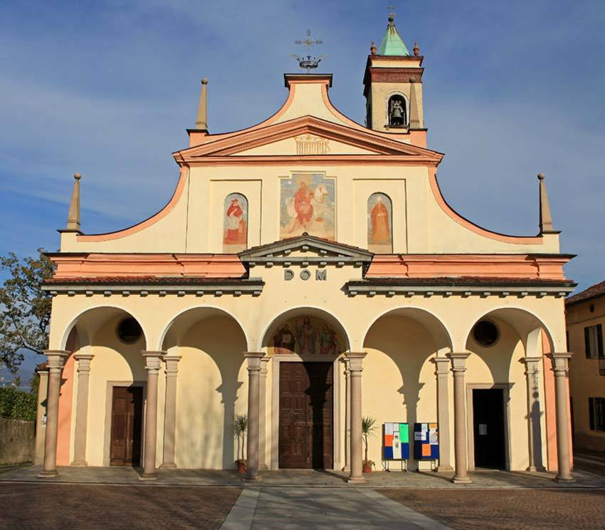 Catholic church near Stresa on Lake Maggiore