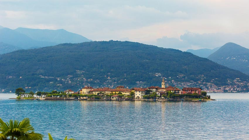 Isola dei Pescatori (Fishermen Island) for weddings on Lake Maggiore