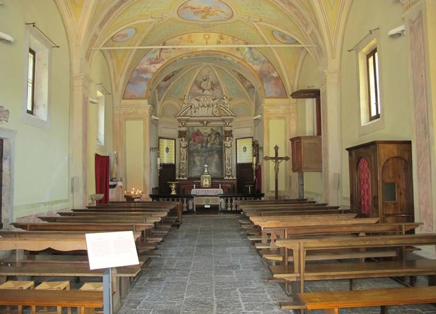 Church of the Sacred Mount of Lake Maggiore