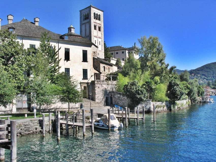 The picturesque town of Stresa on Lake Maggiore