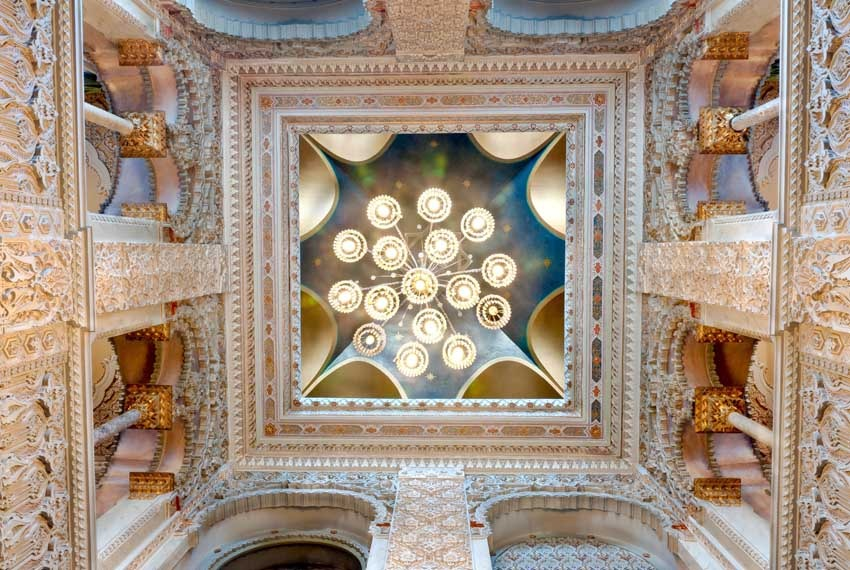 Interior of Villa Crespi for Lake Orta weddings