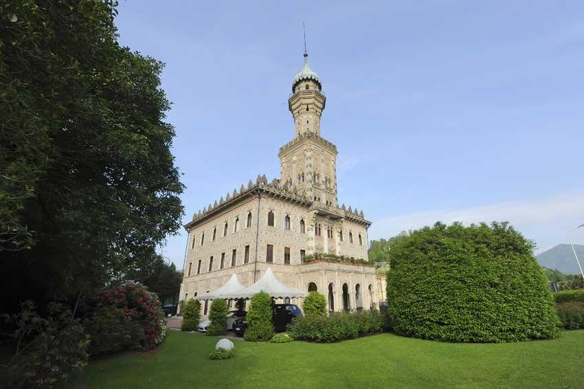 Gardens of Villa Crespi for Lake Orta weddings