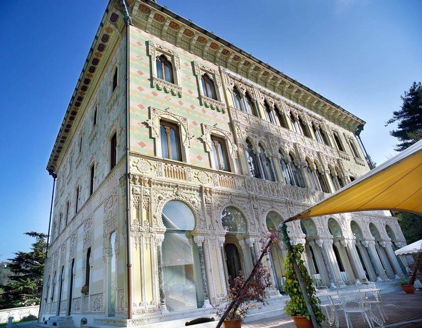 Villa Crespi for Lake Orta weddings