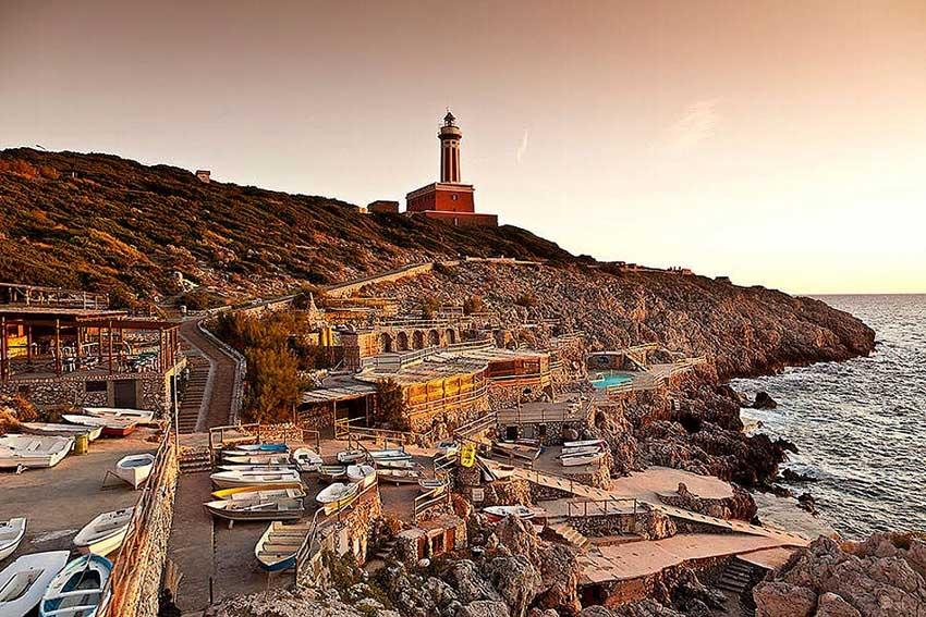 Lido del Faro for wedding receptions in Capri