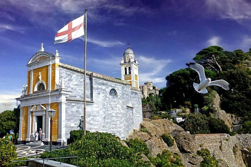 Portofino church for catholic weddings