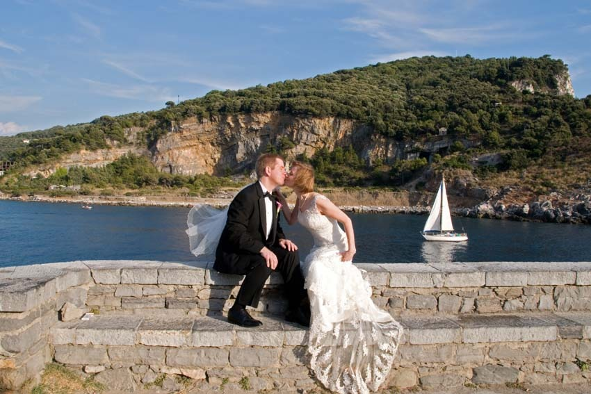 Destination wedding in Portovenere on the Riviera