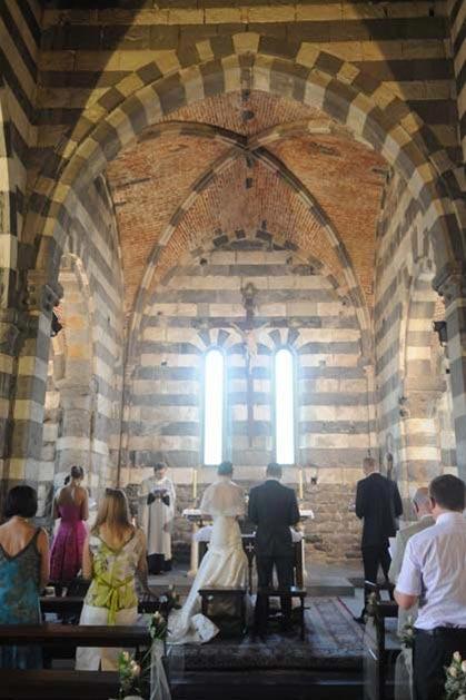 Catholic wedding in Portovenere