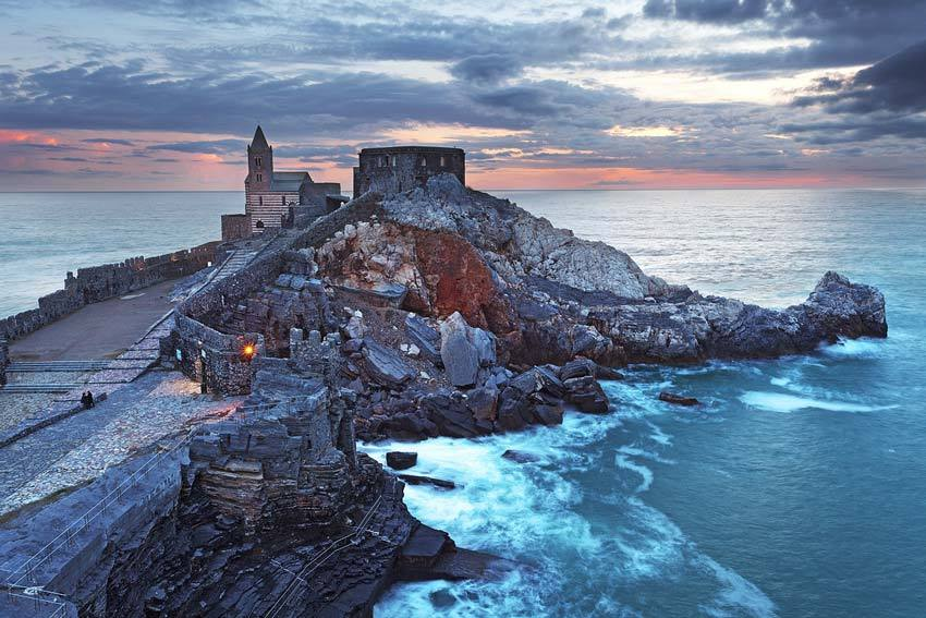 Portovenere on the Italian Riviera