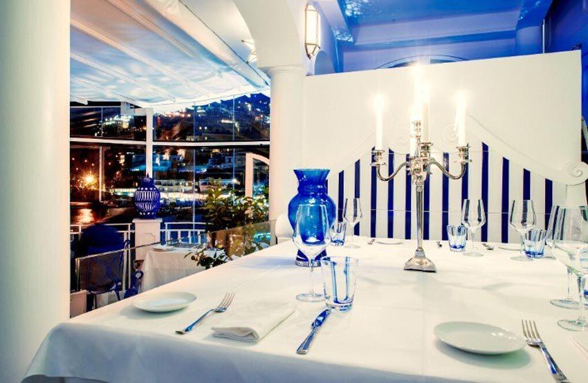 Restaurant for wedding dinner in Positano