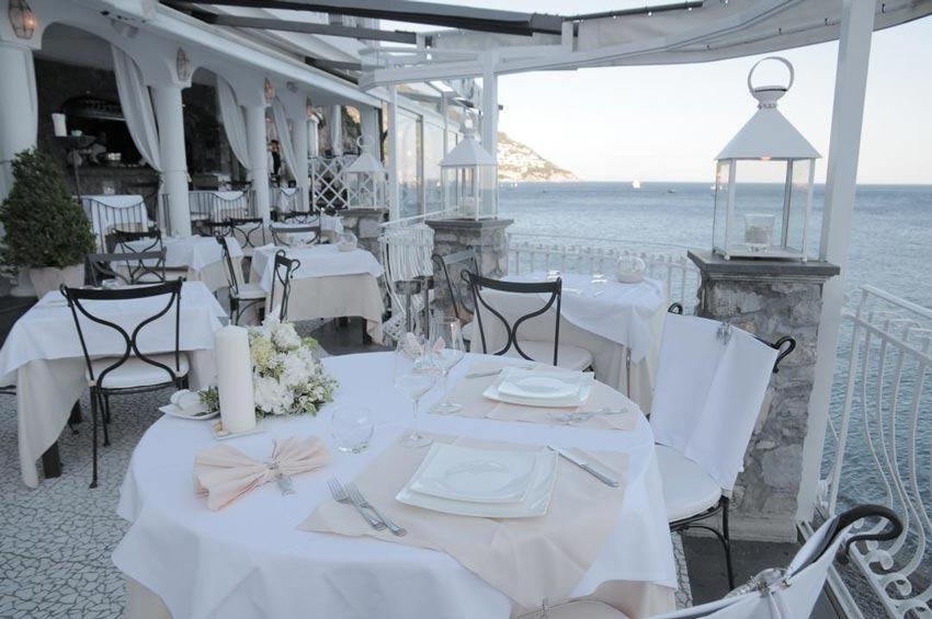 Positano Wedding Rada Restaurant On The Amalfi Coast
