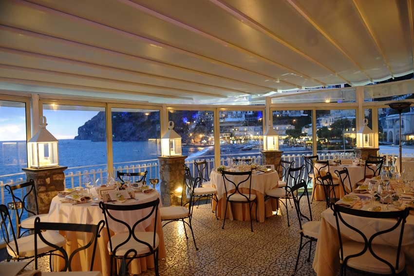 Beautiful Ristorante Le Terrazze Positano Photos - Design Trends ...