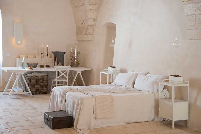 Accommodation at Masseria Le Carrube for weddings in Puglia