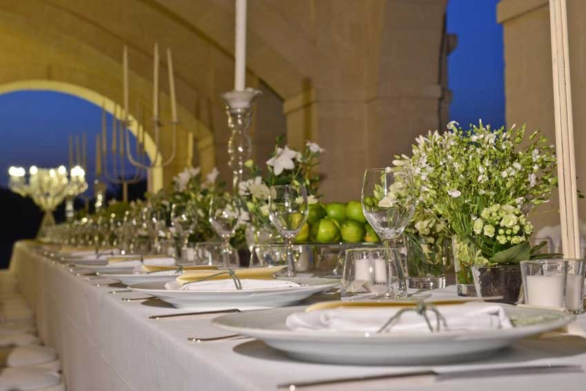 Wedding reception at Masseria Traetta in Puglia