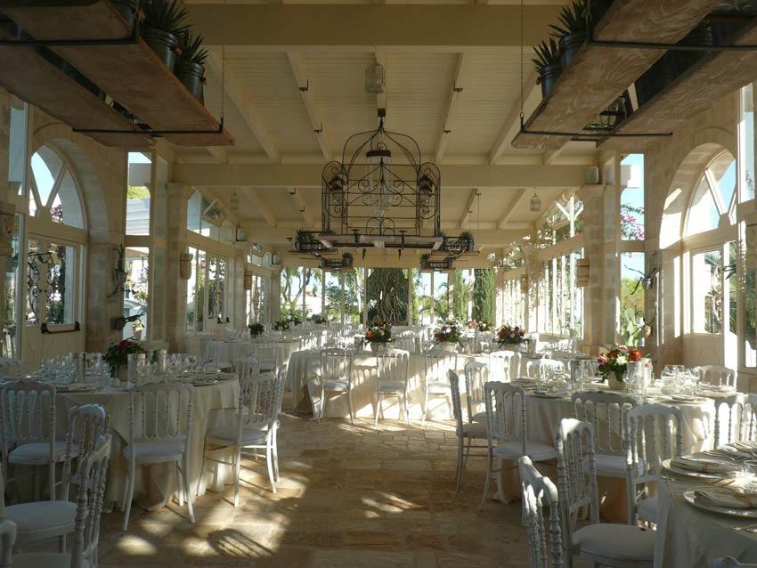 Wedding reception at Masseria Montenapoleone in Puglia