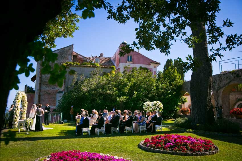 Civil wedding in Ravello