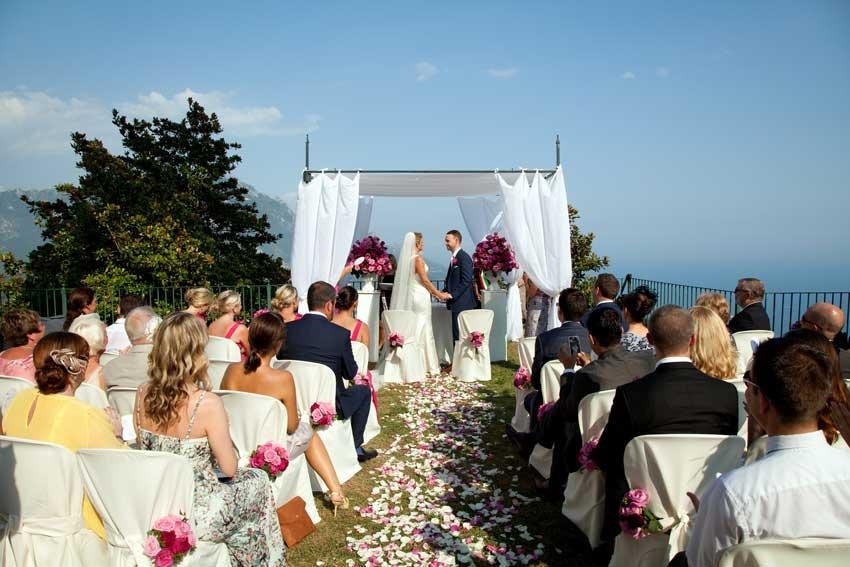 Ravello civil ceremony