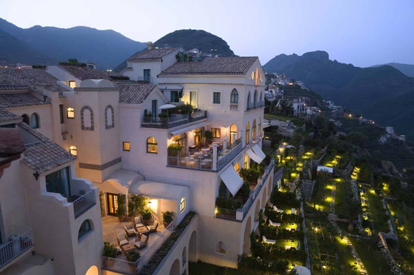 Luxury hotel in Ravello