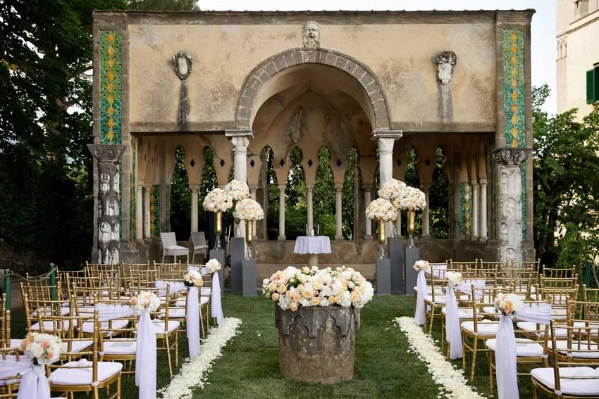 Ravello Wedding Protestant Ceremony