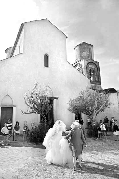 Church for protestant weddings in Ravello