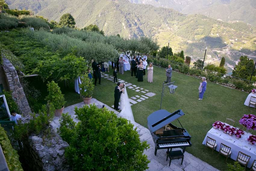 Hotel Caruso For Weddings In Ravello On The Amalfi Coast