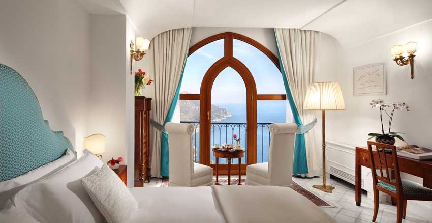 Accommodation at Palazzo Avino, wedding venue in Ravello